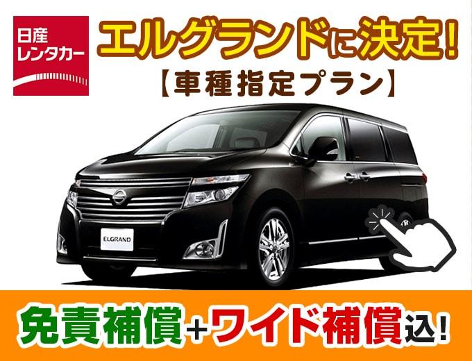 プレミアムなワゴンで沖縄ドライブを贅沢に♪【日産エルグランド車種指定プラン】画像