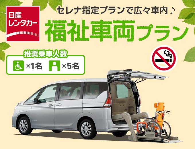 【日産×たびんふぉ特別プラン】福祉車両・セレナチェアキャブリフター画像