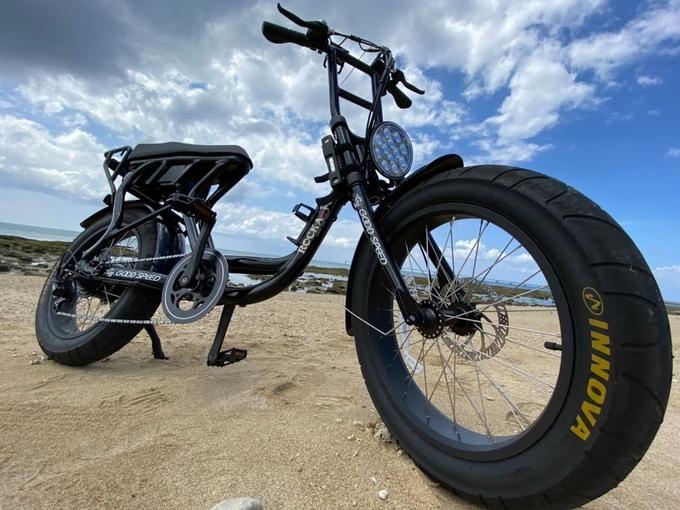 【グッドスピード電動自転車プラン】 ロカフレーム電動自転車画像
